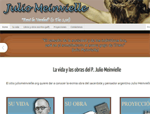 Tablet Preview of juliomeinvielle.org